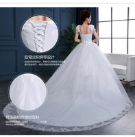 Plus Size Cheap Ball Gowns Spaghetti Straps White Ivory Tulle Wedding Dresses