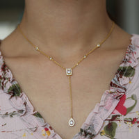 Lovely Chic Y lariat Long Silver Chain Pendant Fashion Necklaces