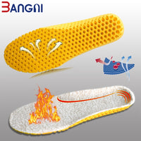 3ANGNI Keep Warm Heated Cashmere Thermal Insoles Thicken Soft Breathable