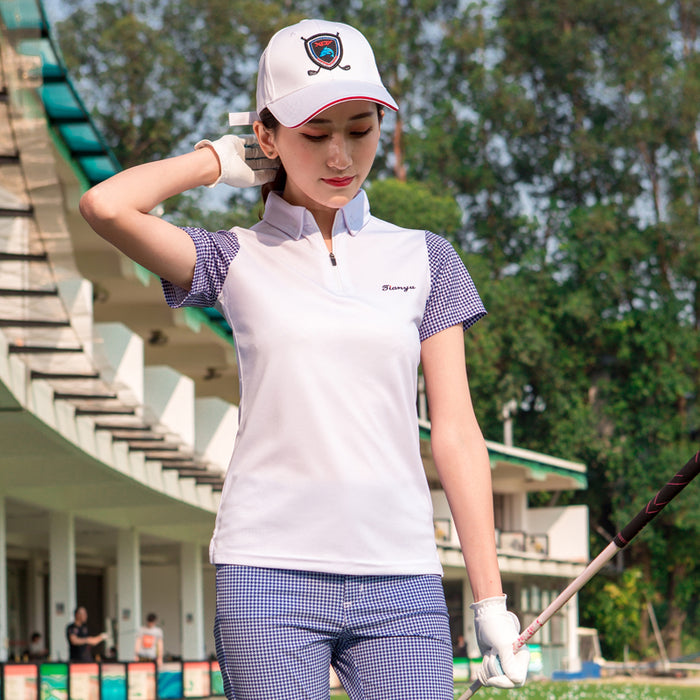 2019 Golf T Shirt Women Tshirt 2018 Sports Clothing Short Sleeve Top Spring Summer Polo Plus Size
