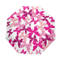 Foldable Romantic Butterfly Umbrellas Rain Umbrellas Women Kids Parasol Umbrella Rain Gear Sun Beach Guarda Chuva Paraguas