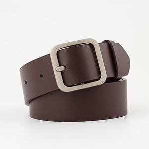 90-110x3.3cm  Leather Waist Strap Belt high quality Women  for Jeans N052