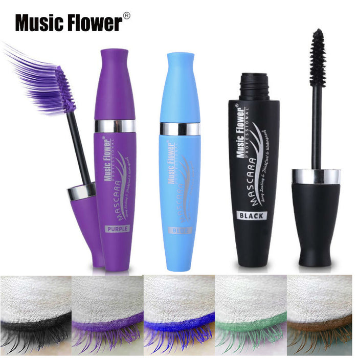Brand Purple Mascara For Eyelash Extensions Waterproof Anti-sweat Extra Lashes Mascara Makeup Long Lasting Eyelashes Brown Blue