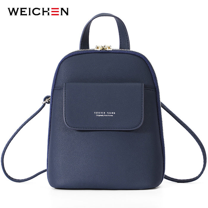 WEICHEN Multi-Function Women Backpack Fashion Small