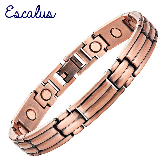 Escalus Copper Plating Magnetic Bracelet For Women Magnet Gift Jewelry