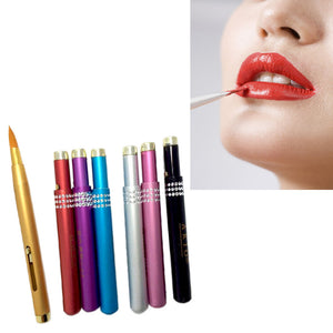 Brush Cleaner Mat Washing Tools for Cosmetic Make up Brushes Aluminum Portable Flexible Lip Brush Tool  12.15
