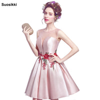 Prom Dresses short Sweetheart Evening party Gowns Graduation Dress