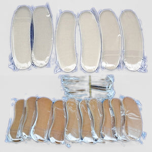 5Pairs Elastic Heel Liner Sticky Sponge Inserts Silicone Heel Protector Pad Cushions
