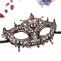 PF Ball Lace Mask Sexy Women Girl Eye Face Masks for Wedding Christmas Halloween Party Mask Masquerade Fancy Dress Costume LM020
