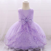 Baby Dress 0-24M 1 Years Baby Girl Birthday Dresses for Infant Lace Vestido Birthday Party Princess Dress