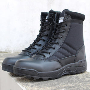 Men Winter Outdoor Travel Military Boots Assault Tactical Boots Sneakers Male