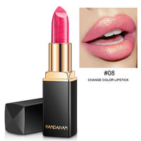 Long Lasting Pigment Nude Pink Mermaid Shimmer Lipstick Luxury