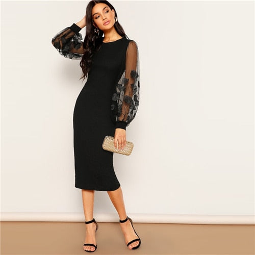 Dress Women 2019 Spring Sheath Dresses