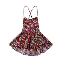Toddler Babys Kids Girls Clothes Summer Braces Backless Dress Sleeveless Princess Party Pageant Dresses Baby Kid Girl Clothes