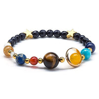 Universe Galaxy the Eight Planets Solar System Guardian Star Natural Stone
