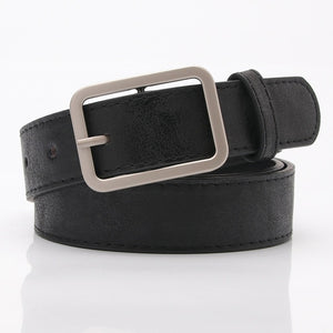 105x2.8cm New ladies gold shiny black wide waist belt for women jeans fashion
