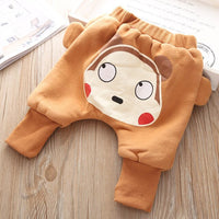 Real Cotton Roupa Infantil Menino Baby Pants Panty New Winter Girls Mouth Closed