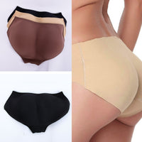 Women Soft Seamless Sexy Enhancer Hip Up Briefs Panties Knickers Buttock Backside Silicone Bum Padded Butt Underwear