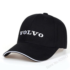 New Unisex Cotton letter Embroidery Volvo Baseball Cap Snapback Fashion Hats For Men & Women Caps