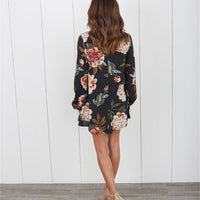 Sexy Maternity Blouse For Pregnant Women Clothing Full Floral Print Chiffon