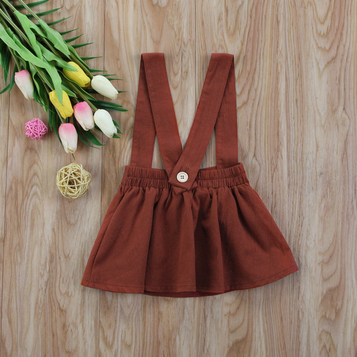 Pretty Toddler Newborn Baby Girl Brace Dress Kid Overall Princess Party Fille Jolie Sleeveless Cute Lovely Dresses 6M-3Y