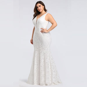 Lace Mermaid Wedding Dresses Long 2019 Ever Pretty Christmas Holiday Party