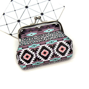Women Coin Purses Cute Small Wallet Lady Vintage National wind Coin Wallets