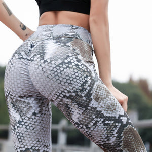 Women 3D Digital Printing Leggings Fitness Push Up Women Leggins 7 Colors Snakeskin Sexy Casual Printed Jeggings Workout Legging