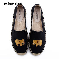 2019 New Alpargatas espadrilles Cartoon Comfortable Slip-on Womens