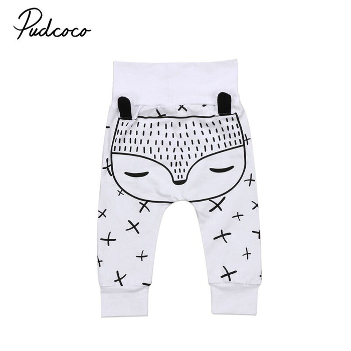 0-24M Cute Baby Harem Pants  Loose Trousers