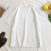 GCAROL 2019 Spring Summer Oversize Women's Candy T-shirt Handsome Streetwear Perfect Basics Tops Render Unlined Upper Garment