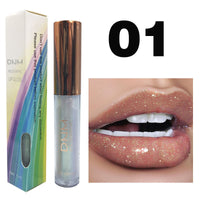 Lip Gloss Glaze Bright Flash Pearlescent Shimmer Moisturizing Lipstick Clear Gloss