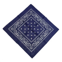Outdoor New Cycling Hiking Scarves Cotton Bandana Square Scarf 55cm*55cm Paisley Headband Printed For Women/Men/Boys/Girls