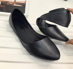 Women Shoes  Casual Shoe Flats Pointed Toe Women's Shoes Moccasins Ballet Flats Flat Shoes Ballerina Loafers