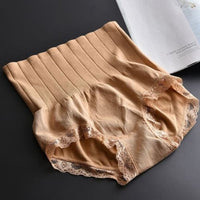 1Pcs High Waist Lace Body Shaper Briefs Panties Women's Sexy Underwear Slimming Pants Tummy Control Underpants