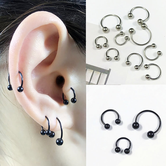 Ring Piercing Hoop Septum Ring Cartilage Earring Helix Ear Body Jewelry