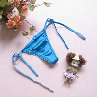Micro Women Thongs and g Strings g-String Satin Panties Underwear String Sexy Panty Tangas Women Sexy Knickers NK040#01