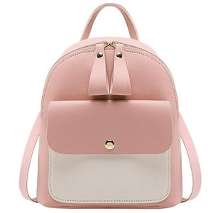 2019 New mini backpack Fashion Luxury Lady Shoulders Small Backpack Letter Purse Mobile Phone mochila feminina