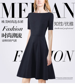Europe station 2018 spring summer fashionable dress European and American