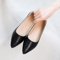 2018 Spring Autumn Women's Loafers Flat Heels Boat Shoes Casual Ballerina Slip-on Pregnant Woman Shoes zapatos planos de mujer