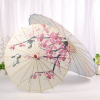 Classical Oilpaper Umbrella Decorative Craft Bamboo Umbrella for Wedding Women