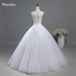 Ball Gown Real Images Lace Tulle Wedding Dresses Dresses Bridal Dress Plus Size