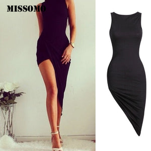 MISSOMO Dress Womensummer dresses women 2019 Sleeveless Bandage Bodycon Cocktail Summer Dress girls Long Maxi Party  2019