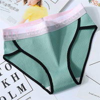 16 Colors Panties for women cotton underwear letters sexy lingerie female casual briefs ladies underpants girl plus size panty