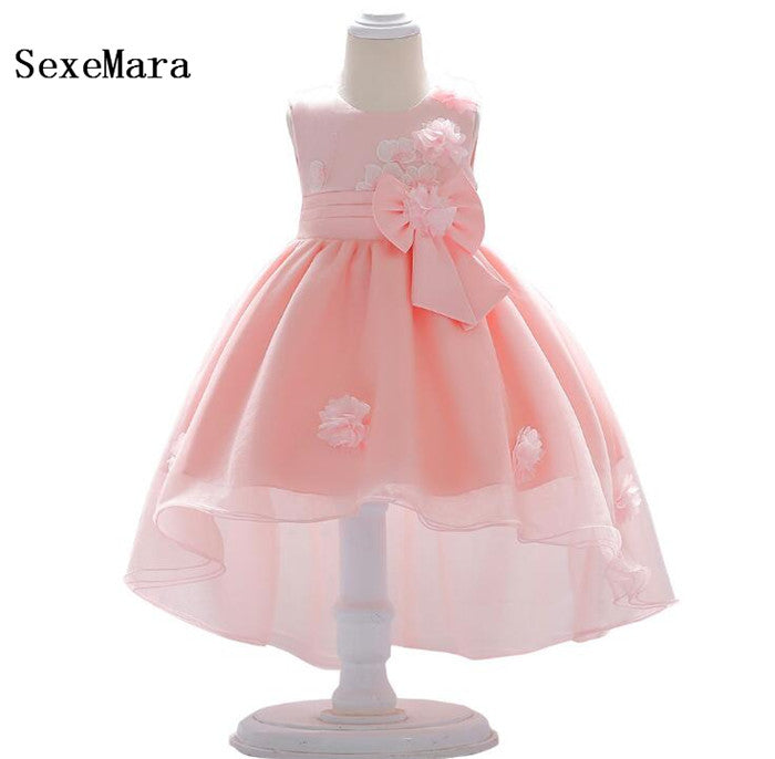 New Real Picture Birthday Baby Dress Baby Girl Christening Gowns Baby Girl Baptism Dresses First Year Girl Christmas Dress