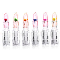 Color Change Jelly Lipstick Flower Waterproof Transparent LipStick Natural Cosmetics