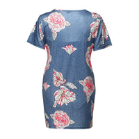 LONSANT Maternity Clothes Women Ruffles Floral Short Sleeve blouse Pregnant woman party fashion Tops  Maternity casual t-shirt