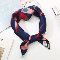 2019 new spring summer women scarf small size silk scarves square NeckerChief office lady scarves spring shawls 50*50cm