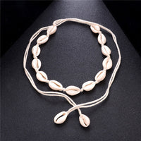 Natural Collar Choker Necklace for Women Fashion Ocean Beach Necklaces Jewelry