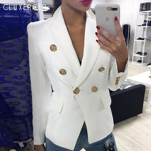 Blazers ladies Women 2019 Spring Autumn Women Suit Jacket Blazer Femme
